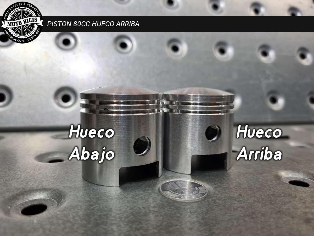 PISTON 80cc HUECO ARRIBA