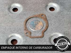 EMPAQUE INTERNO DE CARBURADOR para bicimoto