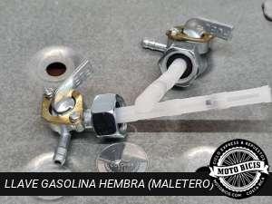 LLAVE GASOLINA HEMBRA para bicimoto