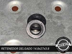 RETENEDOR DELGADO 14.8x27x3.8 para bicimoto