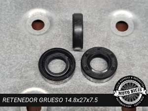 RETENEDOR GRUESO 14.8x27x7.5 para bicimoto