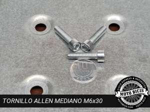 TORNILLO ALLEN MEDIANO M6x30 para bicimoto
