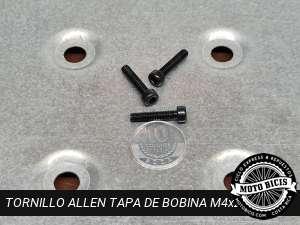 TORNILLO ALLEN TAPA BOBINA M4x20 para bicimoto