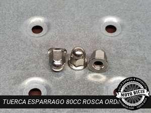 TUERCA ESPARRAGO 80cc ROSCA ORDINARIA para bicimoto
